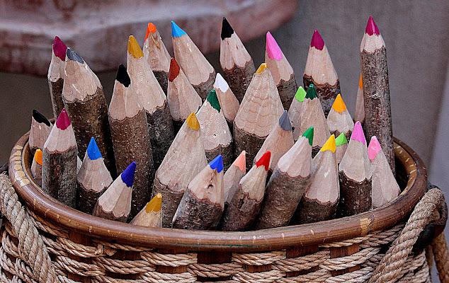 Calore originale del legno. di Naldina Fornasari