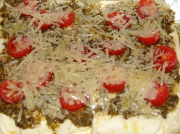 Cream Cheese And Pesto Dip Recipe