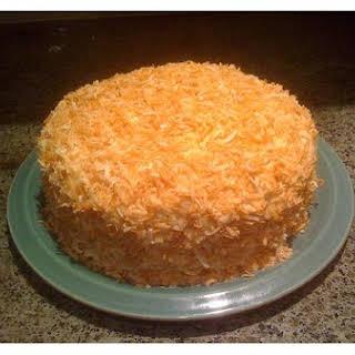 Pineapple Coconut Rum Cake.