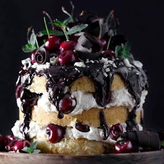 White Forest Cake.