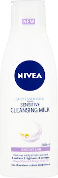 Nivea Daily Essentials Sensitive Cleansing Milk - 200ml
