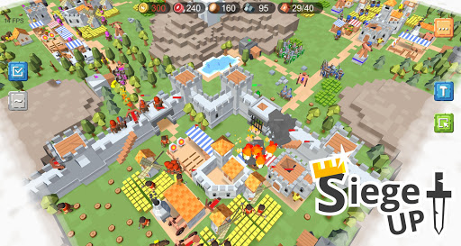 RTS Siege Up! - Medieval Warfare Strategy Offline apkmr screenshots 6