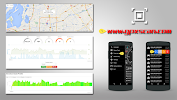 GPS Speed Pro app for Android screenshot