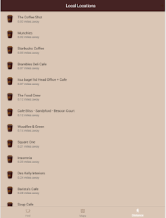 CoffeeTrail - Local Coffee Finder- screenshot thumbnail