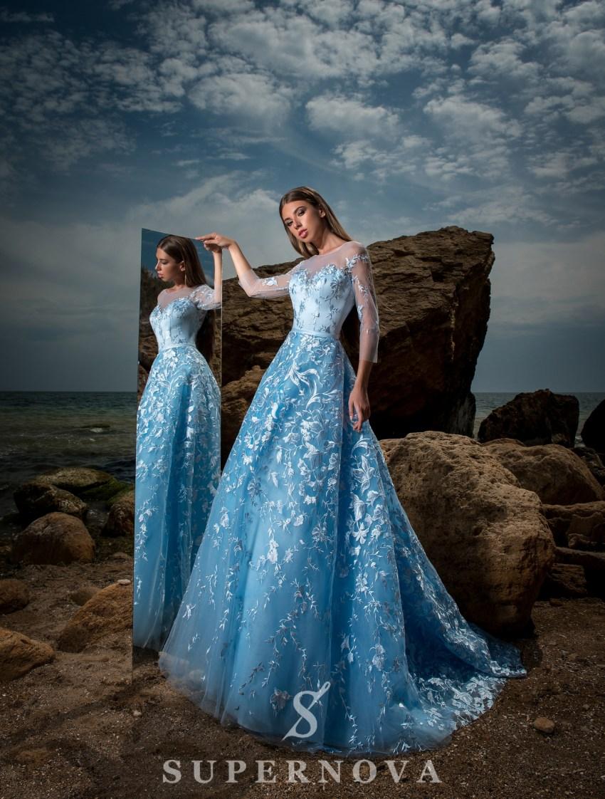 вечерние платья абре фото