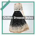 Elegant Chiffon Dresses Fashion Style Idea Offline icon