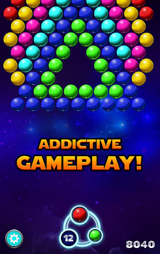 Bubble Shooter Sky - screenshot