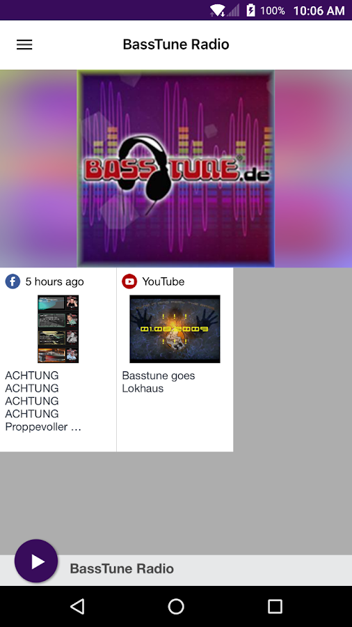 BassTune Radio- screenshot