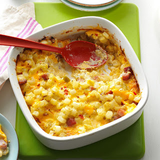 Ham & Cheese Potato Casserole.
