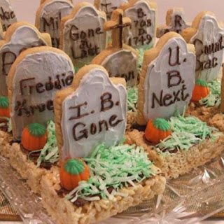 Halloween Tombstone Treats