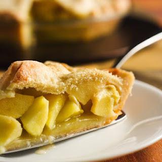 Honey Apple Pie With Thyme