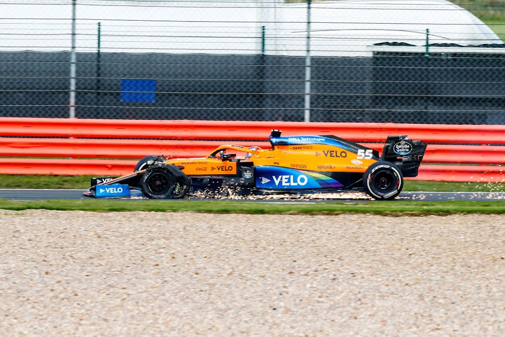 British GP tyre problems due to wear on long final stint
