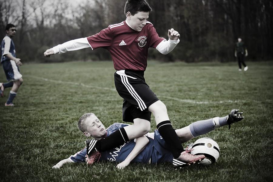 tough luck by Gene Beldean - Sports & Fitness Soccer/Association football