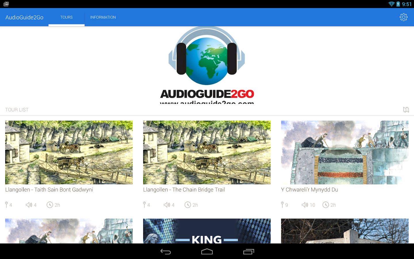 AudioGuide2Go.com- screenshot