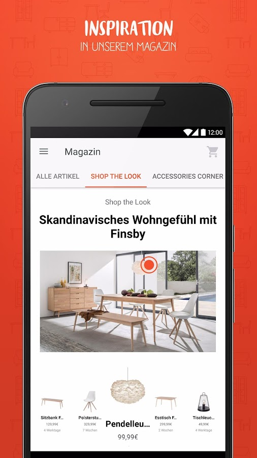 Home24 - Möbel & Interieur - Android Apps on Google Play