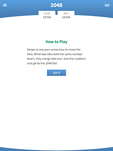 2048 Classic u00b7 Swipe Game screenshots 8