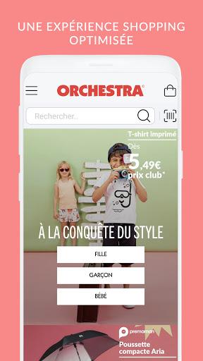 ORCHESTRA mode et puériculture screenshot 1