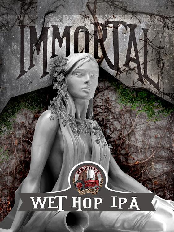 Logo of Immortal Wet Hop IPA