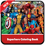Superhero Coloring Book Pages: Kids Coloring Games APK icon
