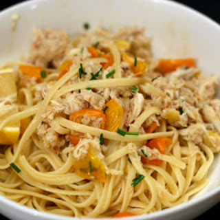 Linguine with Crab and Chili Recipe