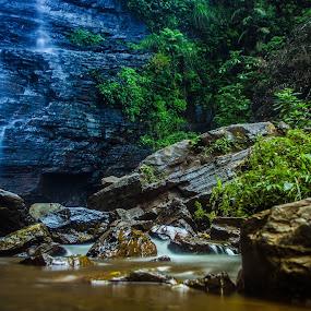 Buttermilk by Purbayan Bhattacharyya - Landscapes Waterscapes ( blue, waterfall, nikond5100, shotonnikon, longexposure )
