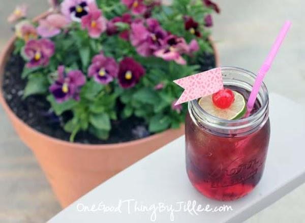 Homemade Cherry Grenadine/homemade Shirley Temple Recipe
