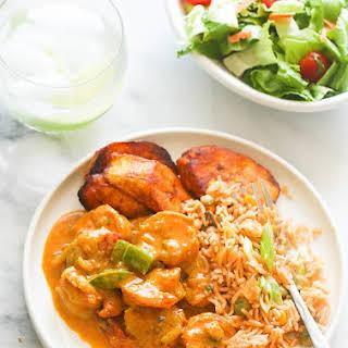 Jamaican Curry Shrimp.