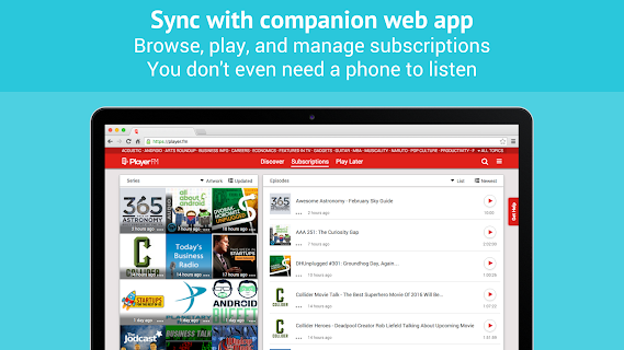 Podcast Player - Free screenshot 07