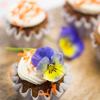 Carrot Cupcakes with Cream Cheese Frosting.