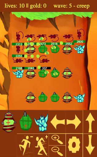 Blind Tower Defense  captures d'écran 1