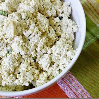 """Tofu """"Ricotta"""" Cheese."""