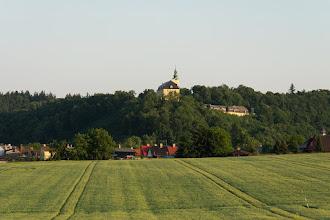 Photo: Fulnek - widoczny na wzniesieniu pałac.
