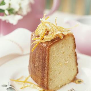 Easy Orange Liqueur Cake Recipe
