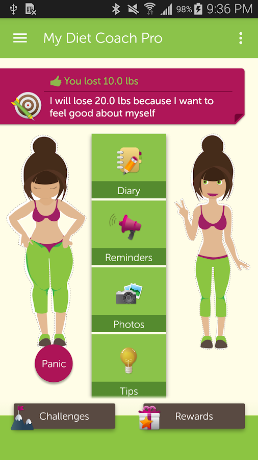 My Diet Coach - Pro - Android Apps on Google Play