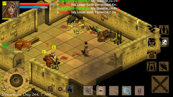 Exiled Kingdoms RPG Screenshot