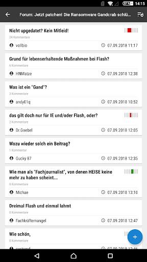 heise online - News 3.4.2 screenshots 21