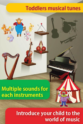 Toddlers musical tunes