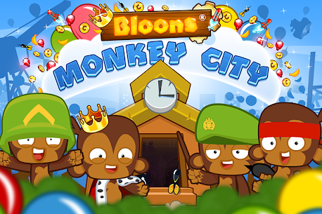 Bloons Monkey City Apk + Mod (Gold) for Android 5