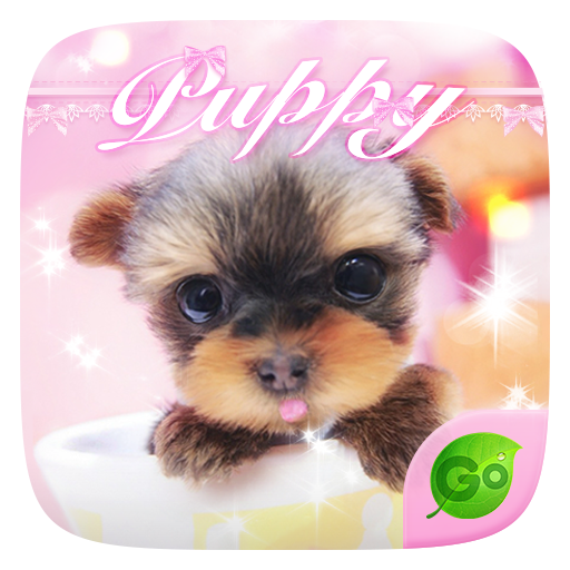 PUPPY GO Keyboard Theme 個人化 LOGO-玩APPs