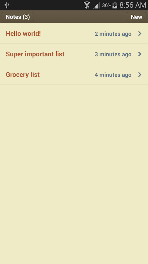 Classic Notes Lite - Notepad - screenshot