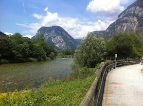 Photo: Il Brenta verso Strigno