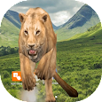 Lion attack crack screen simulated apk