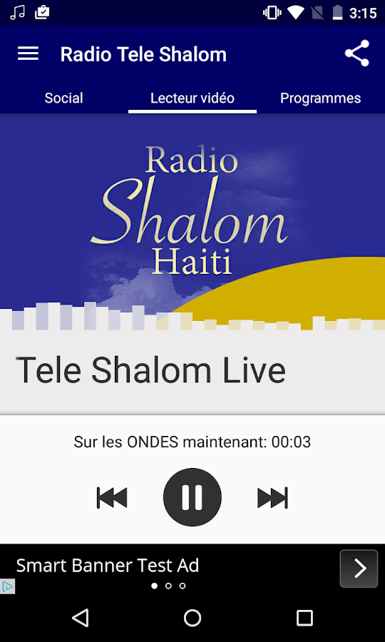 Radio Télé Shalom- screenshot