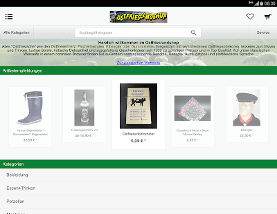 Ostfrieslandshop- screenshot thumbnail
