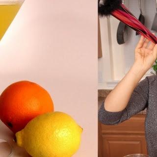 Citrus Limoncello Martini.