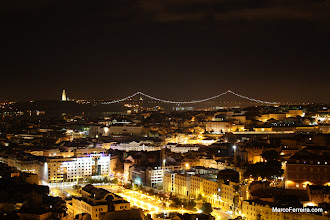 Photo: Lisboa à noite