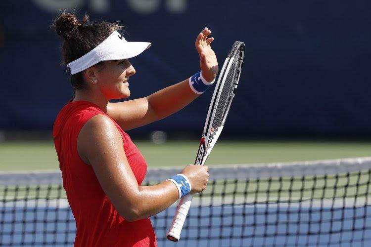 """Bianca Andreescu had het niet onder de markt tegen Elise Mertens: """"Ik werd wat geïrriteerd"""""""
