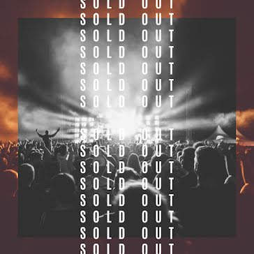 Sold Out Show - Instagram Post Template