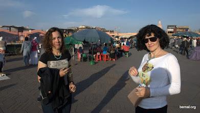 Photo: Atardecer en Jaama el Fna