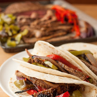 Chili-Lime Steak Fajitas